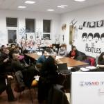 Активні громадяни вчились змінювати місто в ході круглого столу в рамках Інституту Розвитку Міста